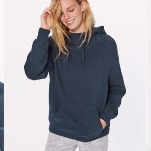 Lululemon Warm for Winter Hoodie in Mach Blue